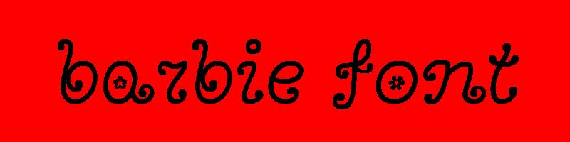 線上英文芭比娃娃字型生成器,快速將英文字轉換成英文芭比娃娃字型 ,系統支援WIN+MAC蘋果系統