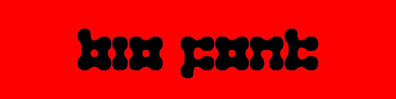 線上英文生物字型生成器,快速將英文字轉換成英文生物字型 ,系統支援WIN+MAC蘋果系統