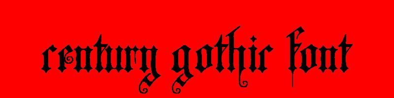 線上英文世紀哥特式字型生成器,快速將英文字轉換成英文世紀哥特式字型 ,系統支援WIN+MAC蘋果系統