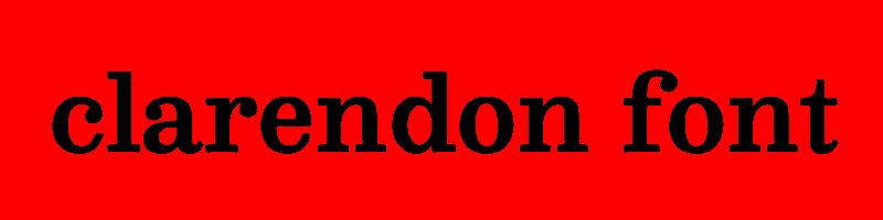 線上英文克拉倫登字體生成器,快速將英文字轉換成英文克拉倫登字體 ,系統支援WIN+MAC蘋果系統
