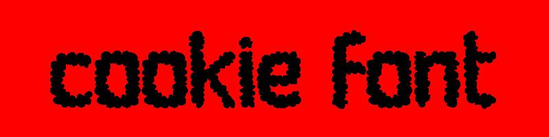 線上英文餅乾字體生成器,快速將英文字轉換成英文餅乾字體 ,系統支援WIN+MAC蘋果系統
