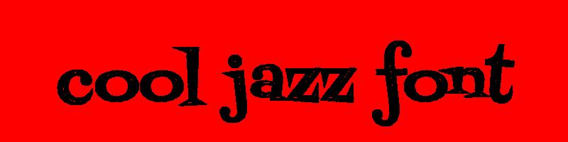 線上英文冷爵士樂字體生成器,快速將英文字轉換成英文冷爵士樂字體 ,系統支援WIN+MAC蘋果系統