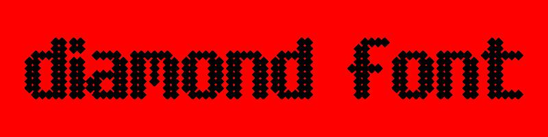 線上英文鑽石字型生成器,快速將英文字轉換成英文鑽石字型 ,系統支援WIN+MAC蘋果系統