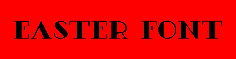 線上英文復活節字型生成器,快速將英文字轉換成英文復活節字型 ,系統支援WIN+MAC蘋果系統