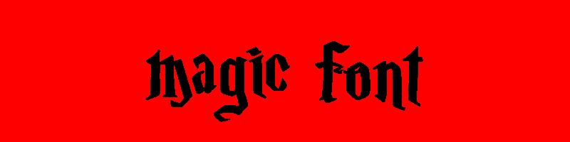 線上英文神奇字體生成器,快速將英文字轉換成英文神奇字體 ,系統支援WIN+MAC蘋果系統