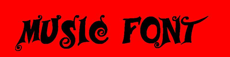 線上英文音樂字型生成器,快速將英文字轉換成英文音樂字型 ,系統支援WIN+MAC蘋果系統