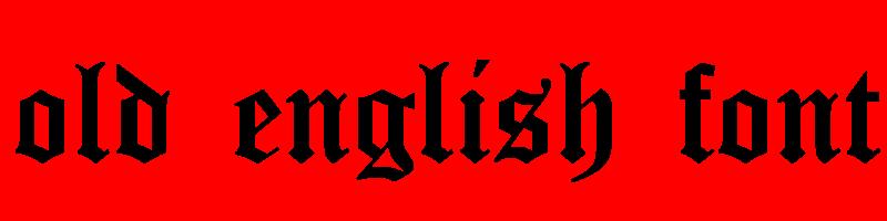 線上英文古英語字體生成器,快速將英文字轉換成英文古英語字體 ,系統支援WIN+MAC蘋果系統