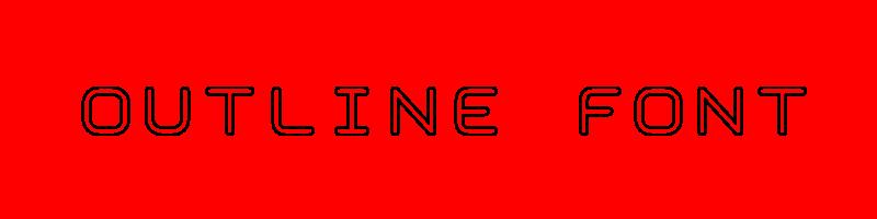 線上英文輪廓字型生成器,快速將英文字轉換成英文輪廓字型 ,系統支援WIN+MAC蘋果系統