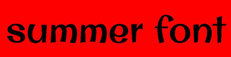 線上英文夏天字體生成器,快速將英文字轉換成英文夏天字體 ,系統支援WIN+MAC蘋果系統